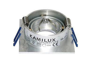 Kamilux® L1  35mm Mini-Kanto 12//230V Decken Einbaustrahler 3//5//10er Sets ohne LM