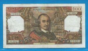 100 Francs Corneille Du 2-2-1967 C.225 6lpsdmy6-08001634-778360503