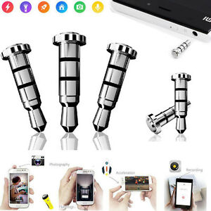 Klick-Quick-Button-Key-Dustproof-Plug-For-Android-3-5mm-Jack-Smart-Cell-Phones