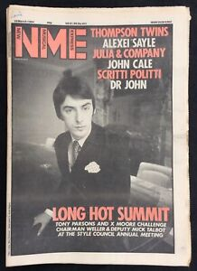 NME-10-March-1984-Paul-Weller-Cover-Thomson-Twins-Alexei-Sayle-John-Cale-Dr-John