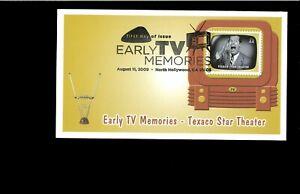 2009-FDC-Early-TV-Memories-Texaco-Star-Theatrt-North-Hollywood-CA