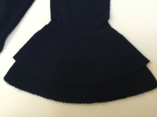 J.Crew Boatneck Ruffle-Sleeve Sweater In Featherweight Everyday Cashmere NWT