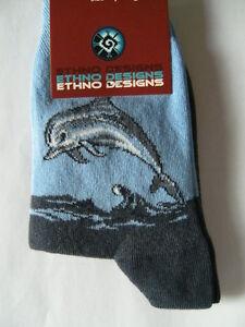 Delphine Delfine babyblau // bunt Happy Socks Dolphin Sock Socken