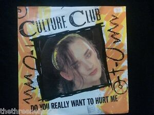 Vinyl 7 Single Do You Really Want To Hurt Me Culture Club