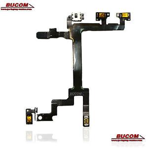 Iphone-5-Power-Flex-Cable-Ribbon-Control-de-Volumen-Mute-Switch-On-Off