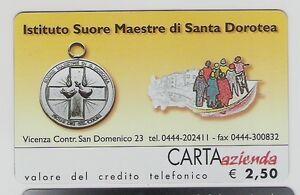 *@ Carta ALB./AZ. ISTITUTO SUORE MAESTRE DI SANTA DOROTEA - € 2,50 - NUOVA @* - Italia - *@ Carta ALB./AZ. ISTITUTO SUORE MAESTRE DI SANTA DOROTEA - € 2,50 - NUOVA @* - Italia