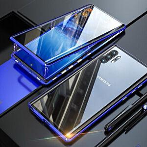 Coque-pour-Samsung-Galaxy-Note-10-Plus-Original-Magnetica-360-Verre-Trempe