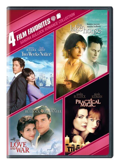 Sandra Bullock Romance: 4 Film Favorites (DVD, 2012, 2-Disc Set)NEW free shippin