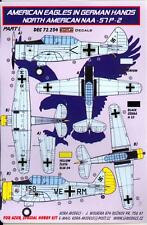 KORA Decals 1/72 NORTH AMERICAN NAA-57 Trainer American Aircraft in German Hands