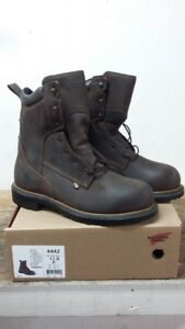 b13d9357272 Details about Red Wing Men's #4442 Dynaforce 8-inch Steel Toe Work Boot