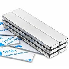 Mikede Strong Rare Earth Neodymium Magnets Heavy Duty Bar Magnets With Double