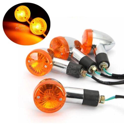 Amber Turn Signals Indicators For Kawasaki Vulcan VN 800 900 1500 1600 1700 2000