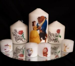 Beauty-and-the-beast-Candle-set