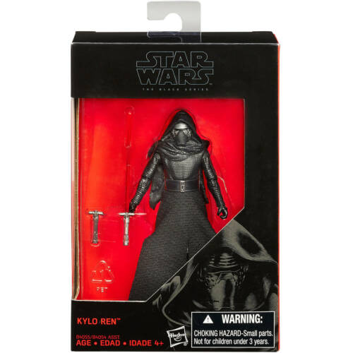 "Star Wars The Force Réveille Black Series 3.75/"" ACTION FIGURE"