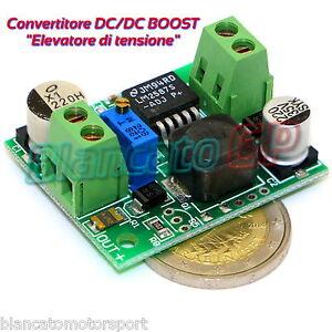DC-DC Hochspannung Konverter Booster Modul Einstellbare Spannungsversorgung NEU