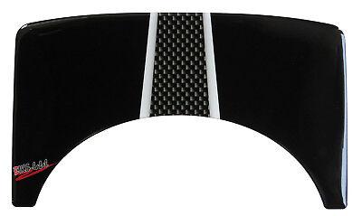 Gabelbr/ücke Pad 3D 550001 Carbon Stripes Schutz passend f/ür Honda CBF 1000