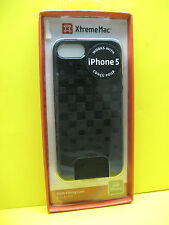 XTREME MAC FORM-FITTING CASE FOR APPLE IPHONE 5 BLACK COLOR