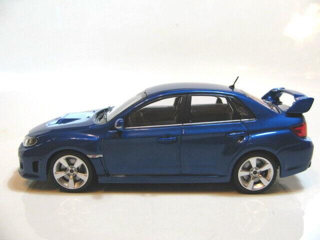 1 43 Ebbro Subaru Impreza WRX STi (blu) diecast