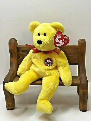 2000 TY Beanie Baby Tradee Bear With Tag Retired   DOB June 29th