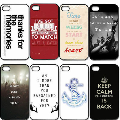 Fashion Classic Words Cheap Rigid Hard Plastic Case Cover For iPhone 5 5G 5S New