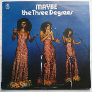THE THREE DEGREES - Maybe - UK-LP