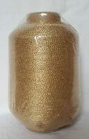 Lurex • GOLD • 500 g • Strickmaschine Beilaufgarn Metallgarn Glanzgarn Kone