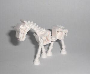 weißes LEGO®  Skelett Pferd