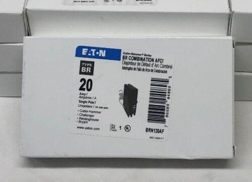 10 x  Breaker Eaton Cutler-Hammer Combination AFCI 20 Amp  BRN120AF  new  lot