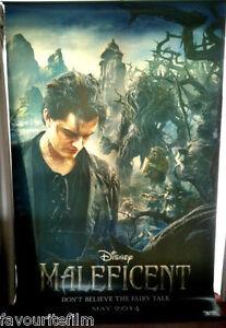 Details About Cinema Banner Maleficent 2014 Diaval Angelina Jolie Elle Fanning Sam Riley