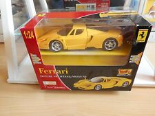Model metal kit Maisto Ferrari Enzo in Yellow on 1:24 in Box