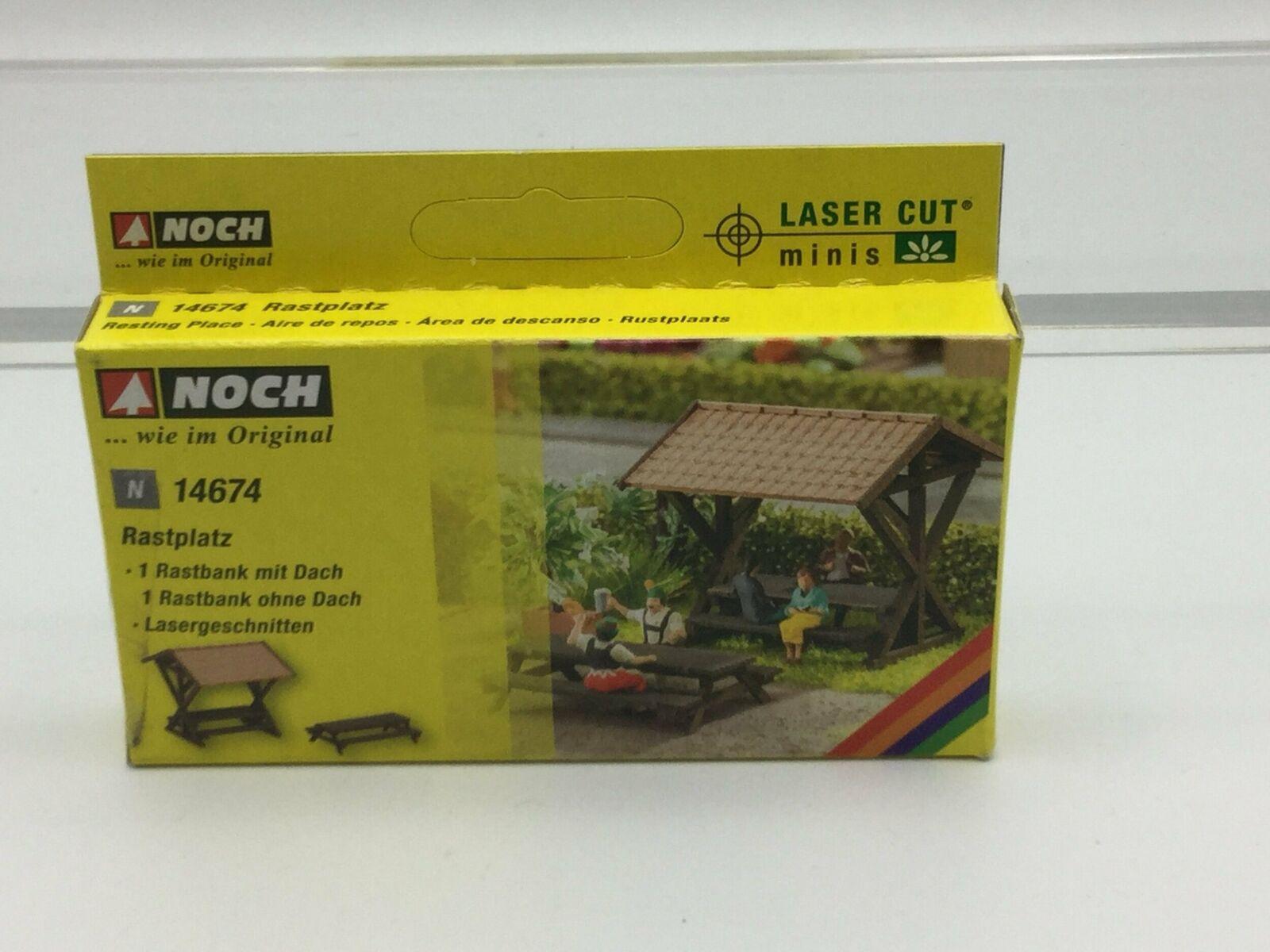 NOCH Resting Place Laser Cut Minis Kit HO Gauge Scenics 14674