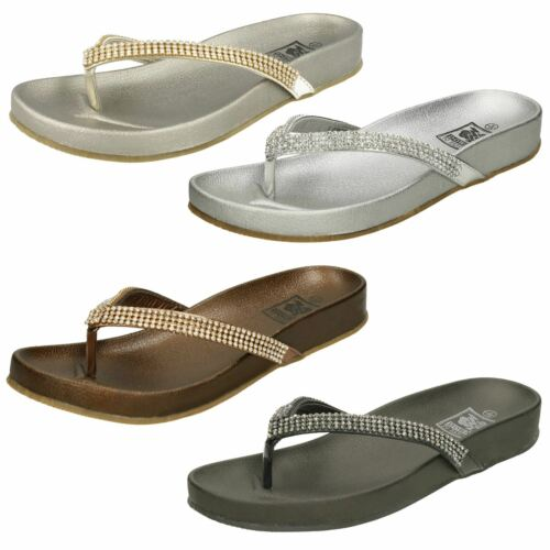 Ladies Down to Earth Toe Post /'Sandals/'