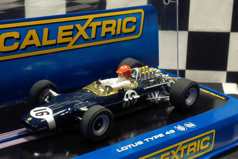 Scalextric C3092 LOTUS 49 F1  16 Jo Siffert Brand New 1 32 Slot Car