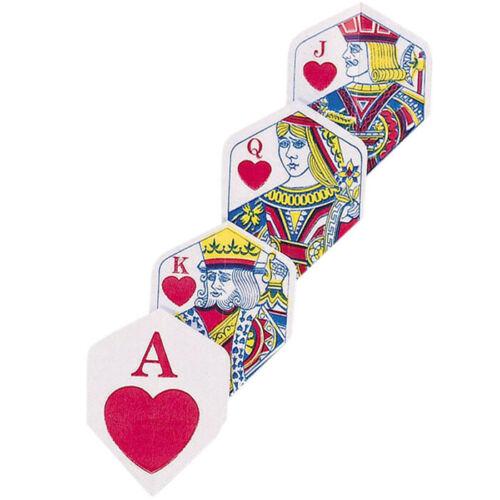 Unicorn Ace of Hearts Core Polyflite Dart Flights