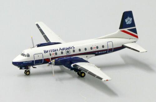 G-BCOF JC Wings 1:400 Diecast Models   JC4104 British Airways HS748 Reg