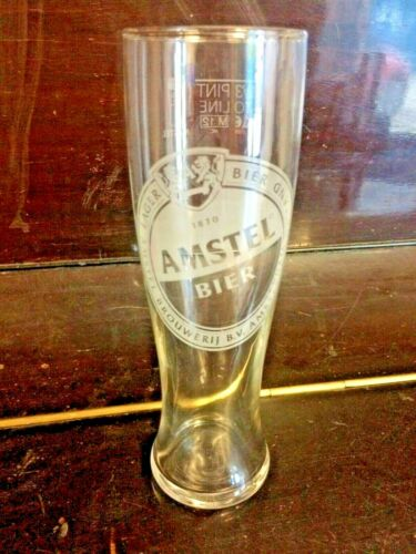 Amstel  3//4 Pint Glasses 20 oz x 24 Glasses Per Box