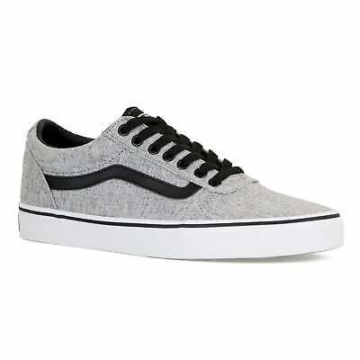Vans Mens Ward Textile Trainers (Grey