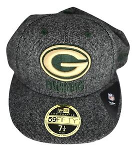 New Era 59fifty Mens Nfl Green Bay Packers Low Profile Fitted Hat Cap New 7 1 4 Ebay