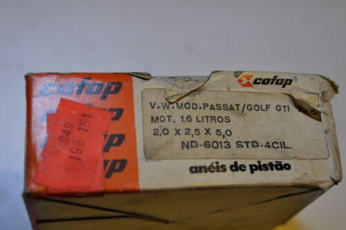 VW Volkswagen Piston Ring broken Set Cofap rabbit jetta GTI 1600cc 4 Cylinder