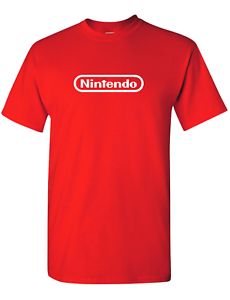 NINTENDO-Logo-T-Shirt-Pick-Size-and-Color