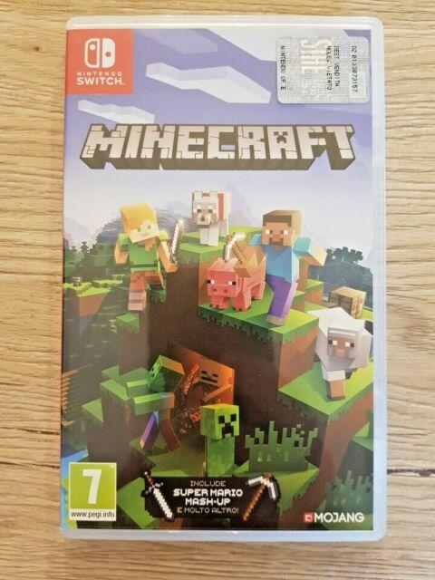 Nintendo Switch Minecraft 7+ anni