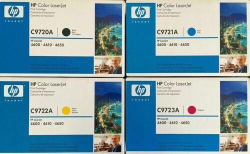 New 4PK HP LaserJet 4600DN 4600HDN 4650DN Toner C9720A C9721A C9722A C9723A