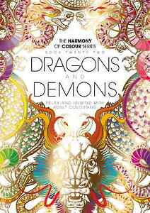 Harmony-of-Colour-Book-22-Dragons-and-Demons-Adult-Colouring-36-Designs-NEW