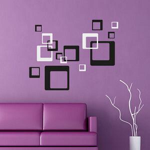 Wandtattoo-Retro-Cubes-Aufkleber-Quadrate-Dekorset-Wall-Art-Wand-Tattoo-2009