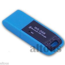BLUE BLUETOOTH USB DONGLE V3.0 FOR MINI DIGITAL SPEAKER PLAY MUSIC MP3 WITH MIC