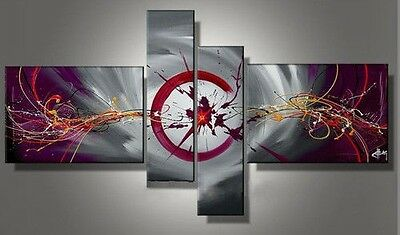MODERN ABSTRACT HUGE WALL ART OIL PAINTING ON CANVAS no frames