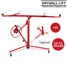 Drywall Lift Plasterboard Sheetrock Lifter Hoist Carrier Safety Lock 11ft 150lbs