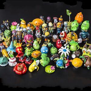 Plants Vs Zombies Sunflower Peashooter Action Figure PVZ Gift Cake Topper Toys