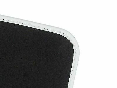 Luxury Fit Black Colour Trim Carpet 4pc Floor Mats for Audi A8 Quattro 03-10