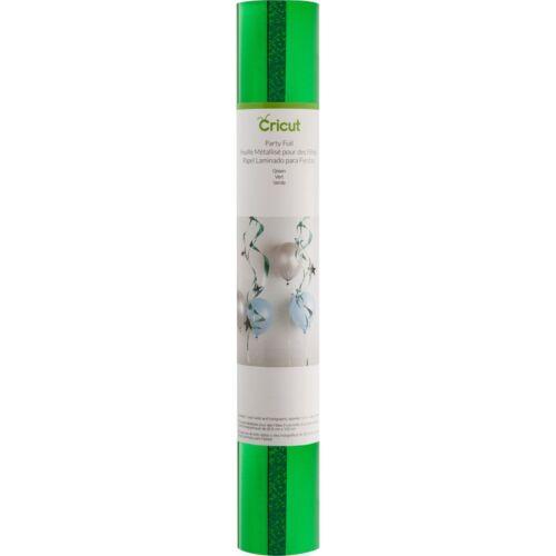 "Cricut Party Foil 12/""x48/"" Roll 2//pkg-green"